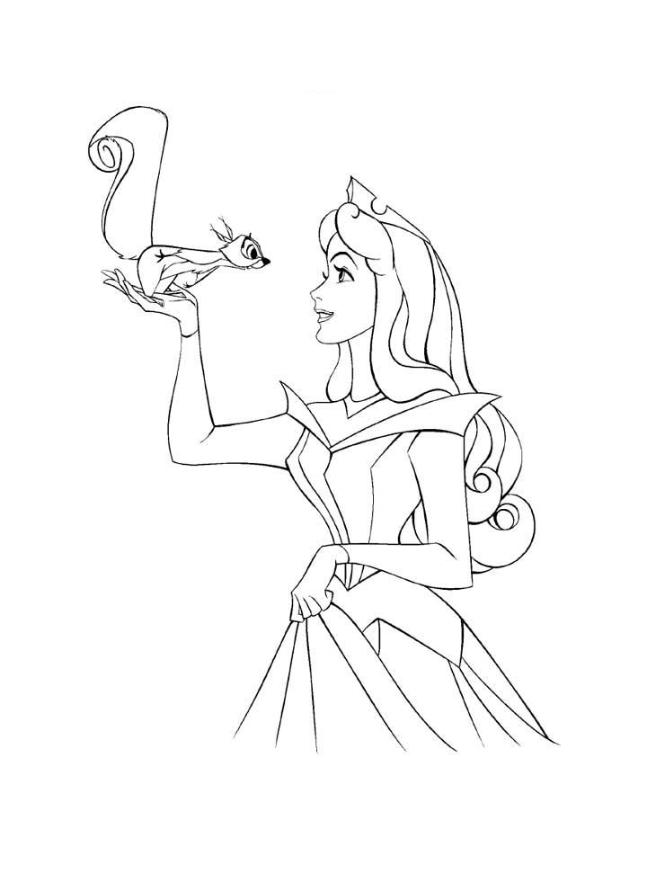 aurora princess coloring pages - photo#24