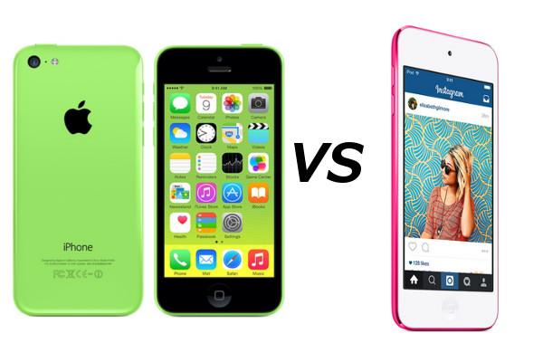 iphone 5c vs ipod touch 6g 2015 cu l es mejor mi mundo gadget. Black Bedroom Furniture Sets. Home Design Ideas