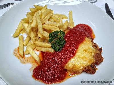 Ristorante La Pasta Gialla: Filet alla Parmigiana