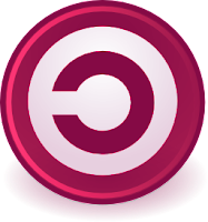 Copyleft movement symbol red