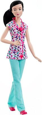 TOYS : JUGUETES - BARBIE Careers   Profesiones Quiero ser Enfermera   Muñeca Barbie Careers Nurse Doll Producto Oficial 2015   Mattel DHB21   A partir de 3 años Comprar en Amazon España & buy Amazon USA