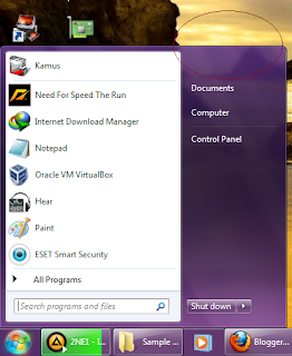 how to hide start bar windows 7