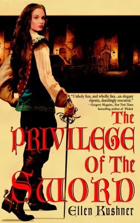 Book Cover of The Privilege of the Sword by Ellen Kushner (Riverside Book 2)