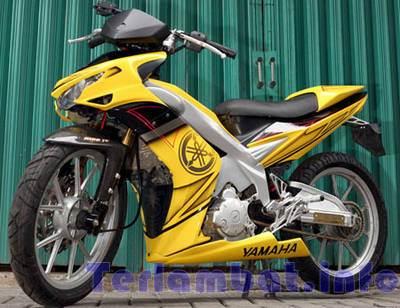 Modif Jupiter MX Kuning