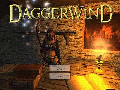 Daggerwind menu