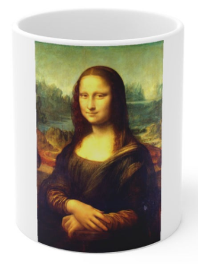 The MONA LISA COffee Mug
