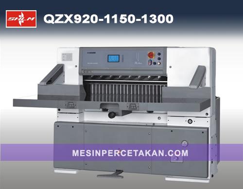 Mesin Potong Kertas QZX 920 | 1150 | 1300 mm