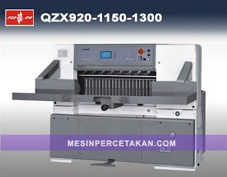 Mesin Potong Kertas QZX 920 | 1150 | 1300 mm | Kondisi BARU