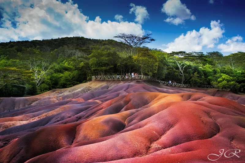 Natural Colored Sands