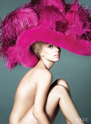 Lady Gaga on the Cover of Vogue's September Issue 2012-2