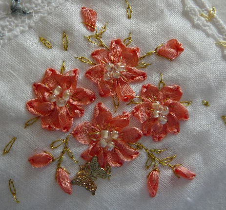Silk Ribbon Embroidery Free Sre Design Ribbon Stitch Flowers