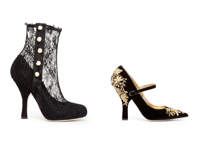 Styl barokowy - buty Dolce & Gabbana