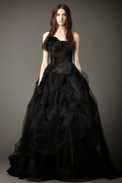 Crystaltear Black Wedding Dresses Educe Unique Charm