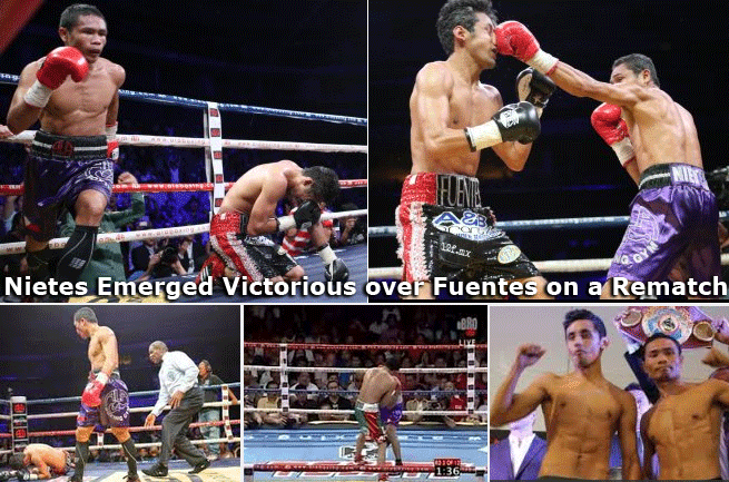 "Donnie ""Ahas"" Nietes Emerged Victorious over Moises ""Moi"" Fuentes on a Rematch"