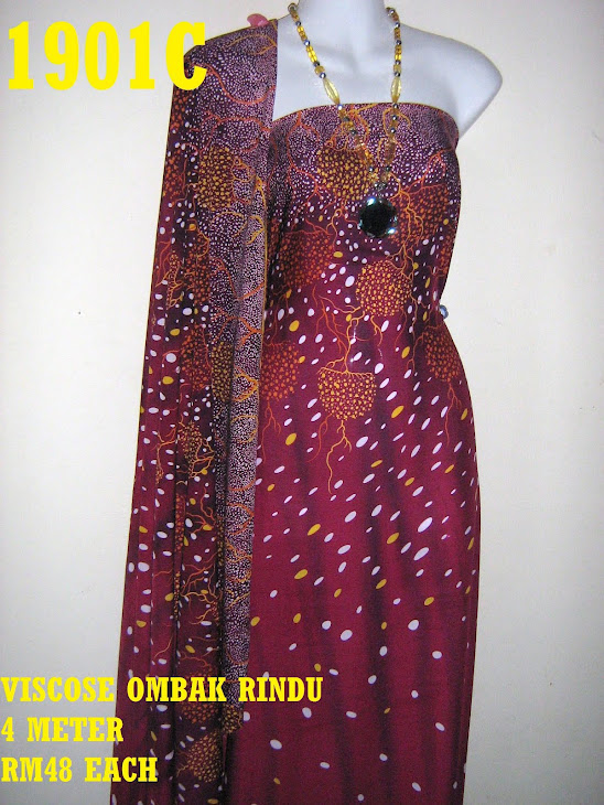 VOR 1901C: VISCOSE OMBAK RINDU, 4 METER