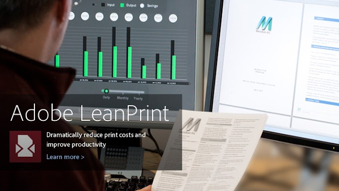 LeanPrint Reduces Ink Use by 40 Percent