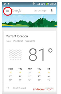 Google Now | andromin