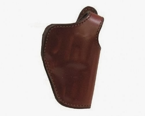 Bianchi 5 Black Widow Leather Holster Tan Size 14 Right Hand RH Fits Glock 15190