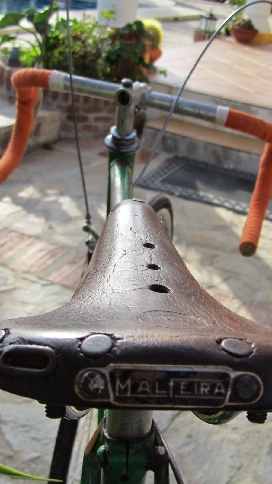Sillin malfeira - Bicicleta Clásica Emporium - Ciclos Cataluña