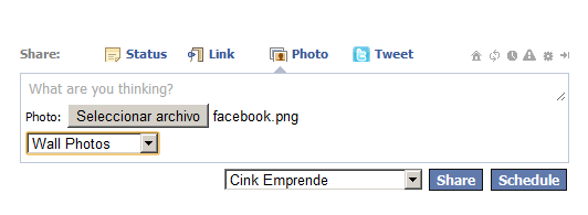 programar post en facebook