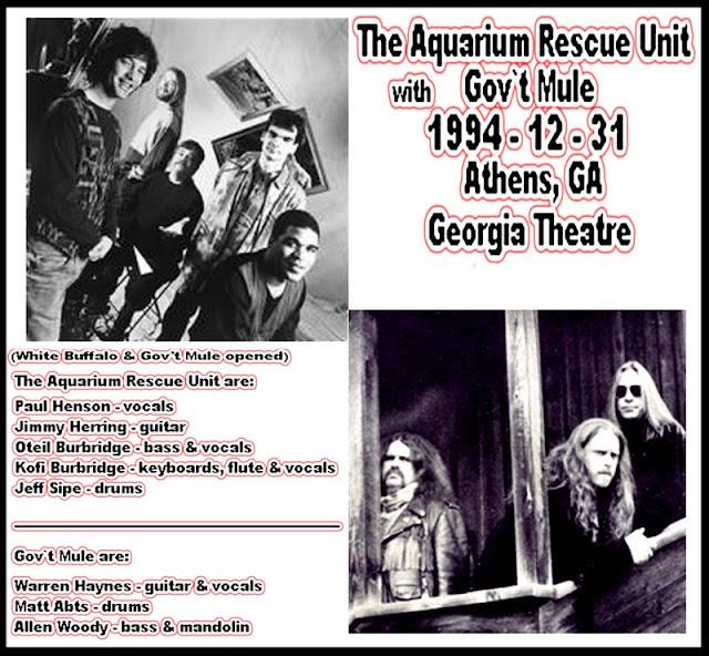 Ce que vous écoutez là tout de suite - Page 6 Gov%2560t+Mule+1994-12-31%2528w.Aquarium+Rescue+Unit%2529+front