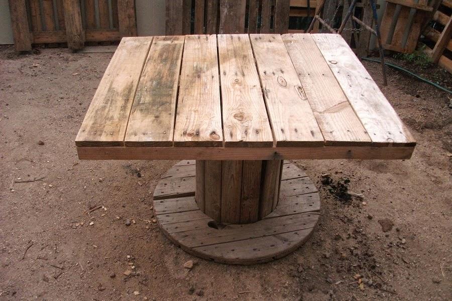 EcoNotas.com: Mesas con Palets Reciclados