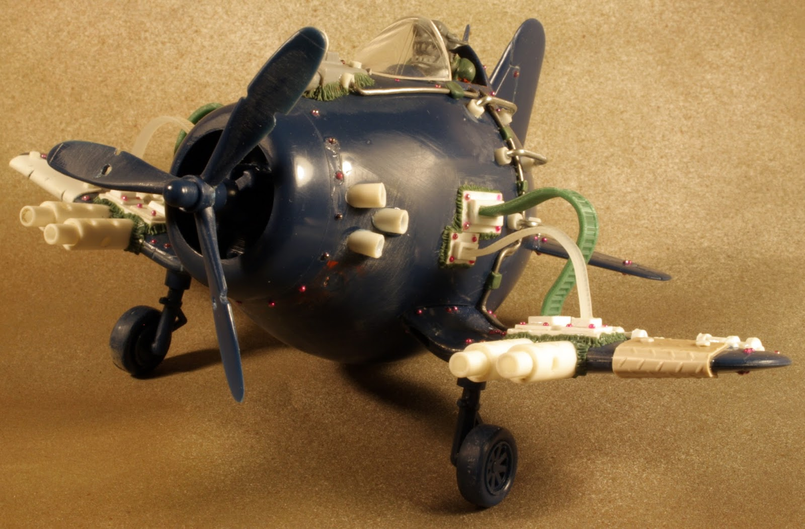 I used styrene and a few items from my bits box to convert the corsair into my dakkajet. Additional details on the work in progress can be found on my ...
