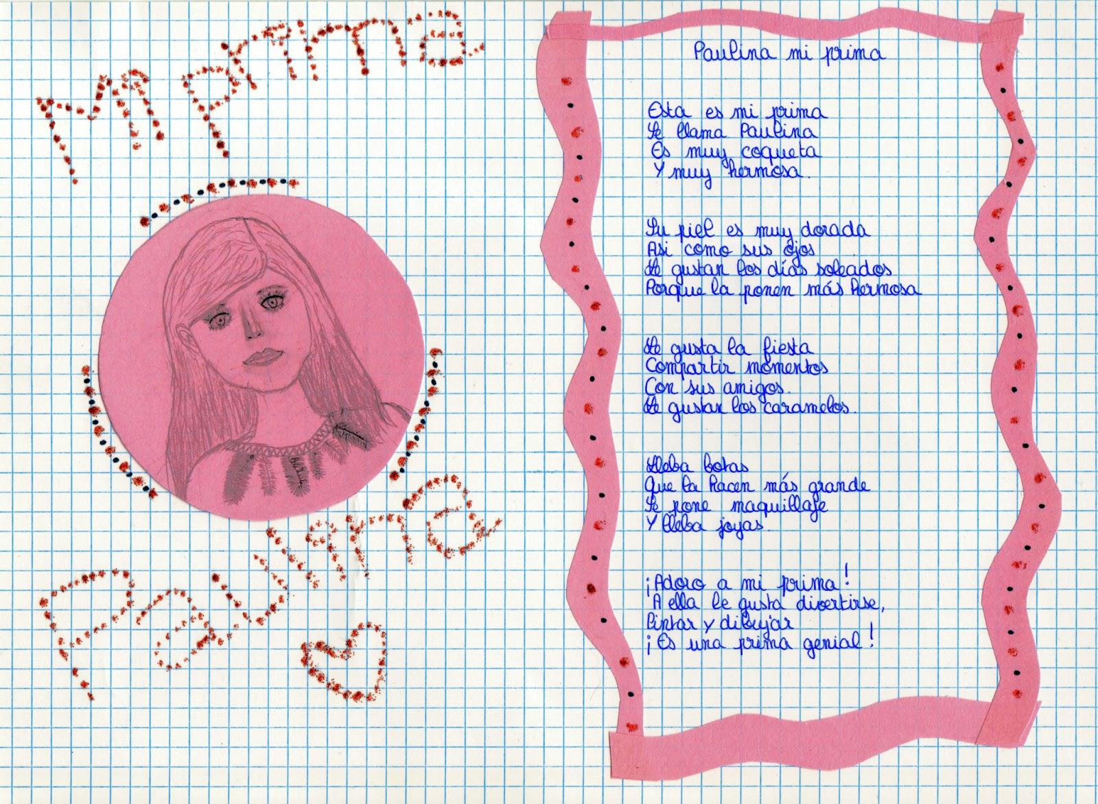 """escribir en español: A la manera de la poesía """"Manuela mi abuela"""
