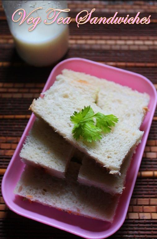 Veg finger sandwich recipe veg tea sandwich recipe for Club sandwich fillings for high tea