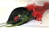 buket bunga valentine