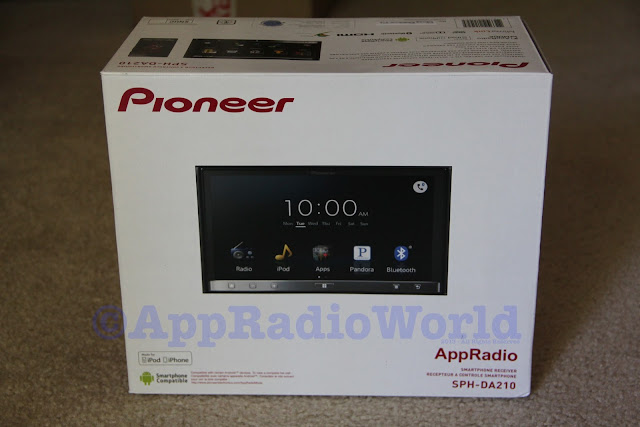 appradioworld apple carplay android auto car technology news pioneer appradio 3 sph da210