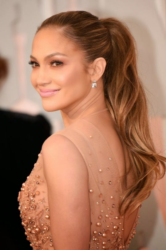 Jennifer Lopez Makeup Look Oscars 2015