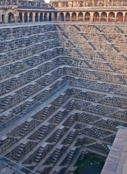 unusual stairs in india