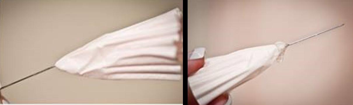 DIY Centros de mesa con blondas de magdalenas