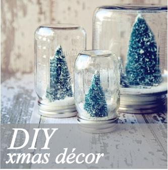 Barattoli di vetro decorati per Natale | Blog di arredamento e interni