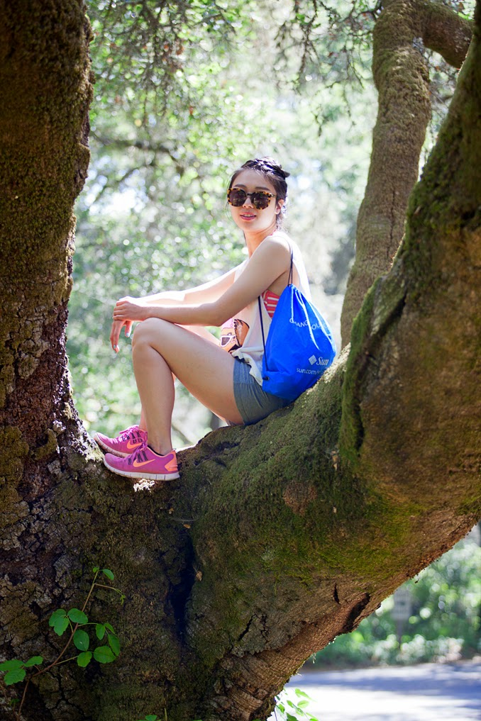 camping outfit, hiking outfit, bay area fashion blog, fitness outfit