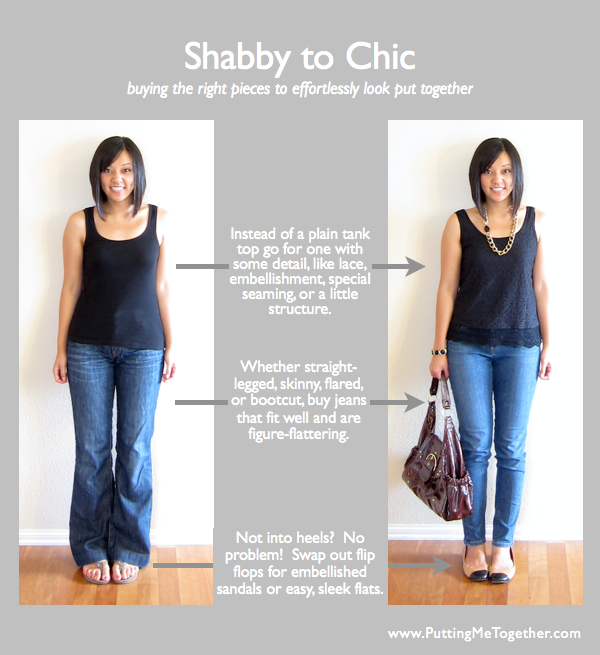 Putting Me Together: Shabby To Chic - Buying The Right Pieces