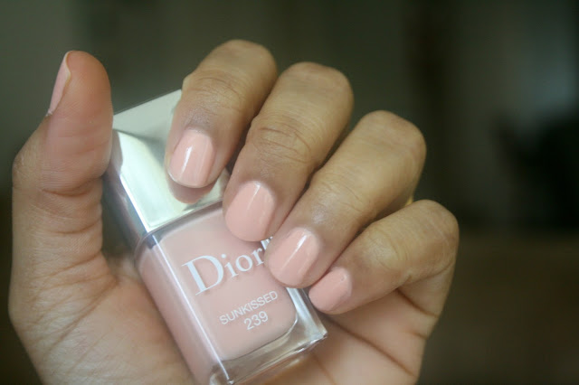 Dior Vernis Sunkissed #239 | Dior Tie Dye Summer 2015 Makeup Collection