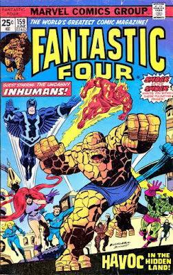 Fantastic four #159, the Inhumans