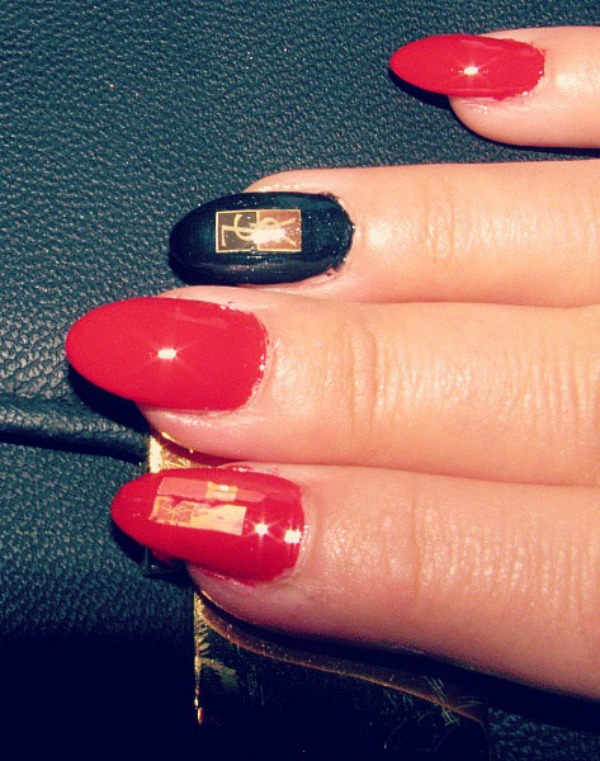 YSL inspired nails