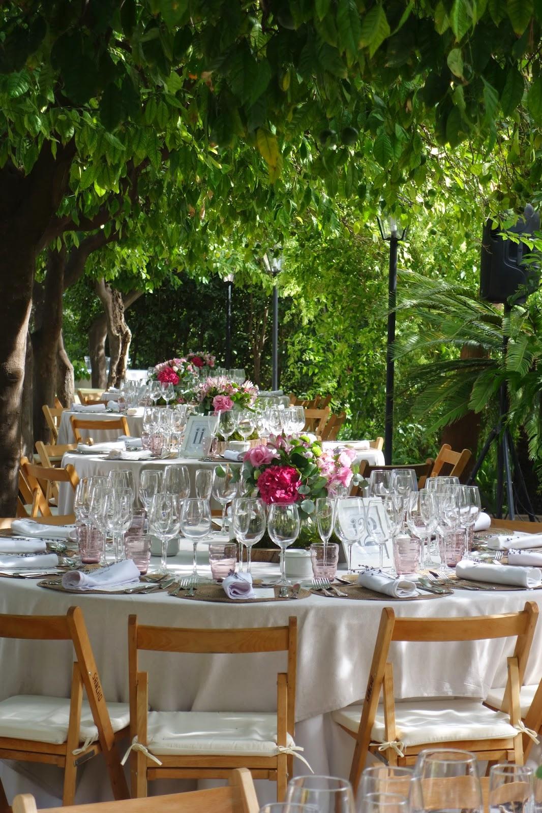 Decoración mesas bodas Valencia
