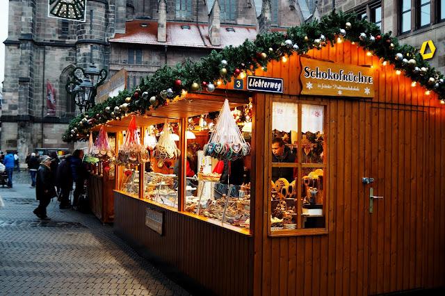 vánoční trh a tradiční Norimberské perníčky // Christmas market and traditional Nuremberg gingerbread