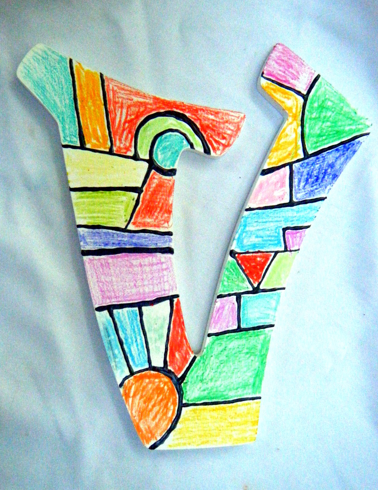 Surprise Stained Glass Effect On Wooden Letters With Crayons Hobby Hound Diy Electronics Projects2 Crafty Mountain Mama Crafts Projects Tips And Tricks
