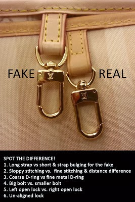 Bonny Fashionista: How To Spot a Fake Louis Vuitton Bag