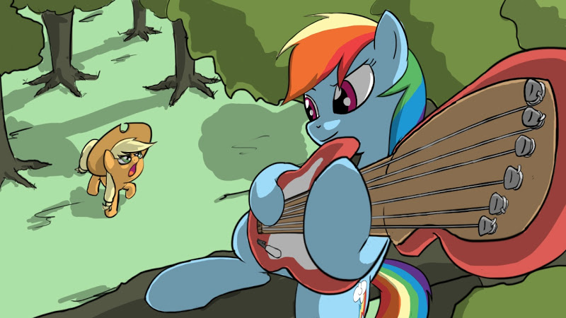 Anthro applejack and rainbow dash - photo#8