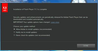 Adobe Flash Player 11.3.300 Final 2