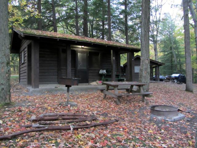 Camping At Taughannock Falls State Park In New York Road