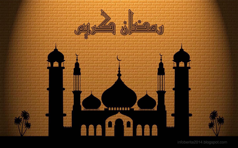 Wallpaper Kaligrafi Ramadhan Karim