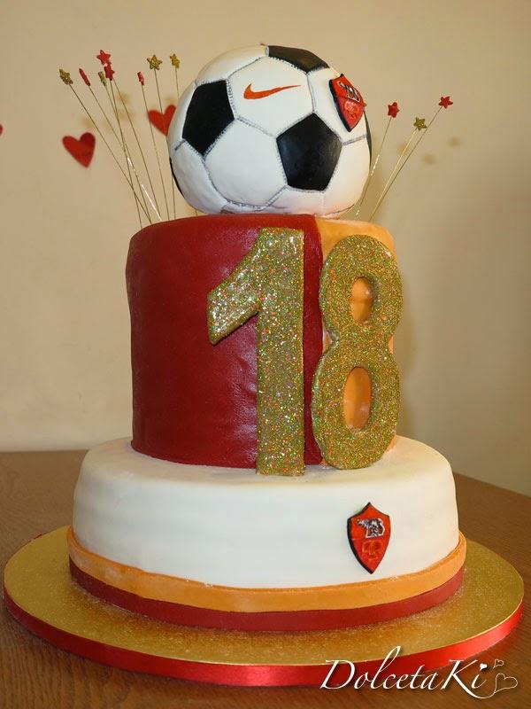 torta della roma 18 anni