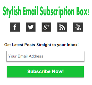 Stylish0Email0Subscription0Box-with-Social-Media-Buttons